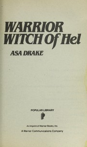 Cover of: Warrior Witch of Hel | Asa Drake