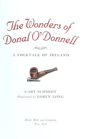 Cover of: The wonders of Donal O'Donnell : a folktale of Ireland |