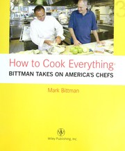 Cover of: How to cook everything by Mark Bittman