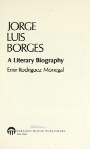 Cover of: Jorge Luis Borges | Emir Rodriguez Monegal