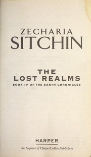 Cover of: The lost realms | Zecharia Sitchin