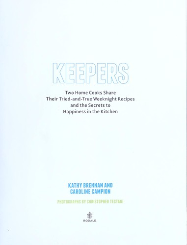 Keepers by Kathy Brennan