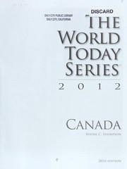 Cover of: Canada 2012 | Wayne C. Thompson