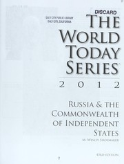 Cover of: Russia & the Commonwealth of Independent States 2012 | Merle Wesley Shoemaker