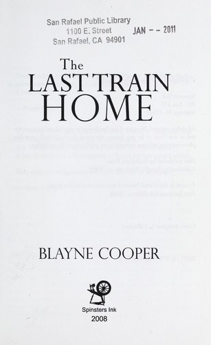 The last train home by Blayne Cooper