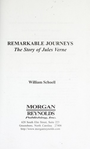 Remarkable Journeys [electronic resource]: The Story of Jules Verne by