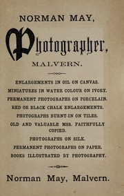 Cover of: Photographic guide to Malvern | Norman May