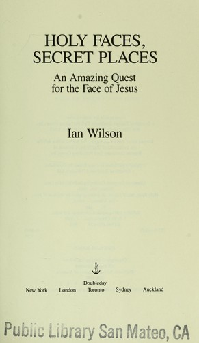 Holy faces, secret places by Wilson, Ian