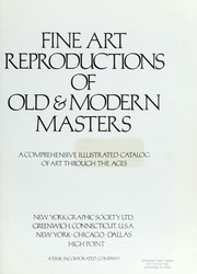 Cover of: Fine art reproductions of old & modern masters | New York Graphic Society