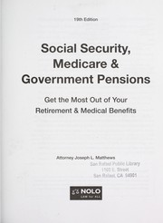 Cover of: Social security, medicare & government pensions | J. L. Matthews