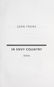 Cover of: In envy country : stories |