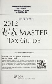 Top federal tax issues for 2012 2011 edition open library top federal tax issues for 2006 cpe course 2012 us master tax guide fandeluxe Images