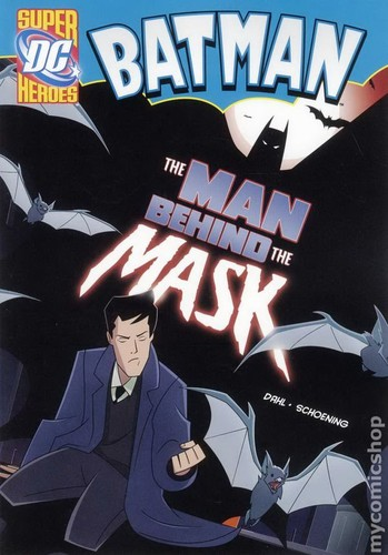 Batman-The Man Behind the Mask-With Book by Homestar