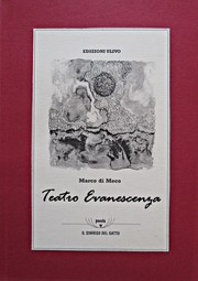Cover of: Teatro Evanescenza | Marco Di Meco