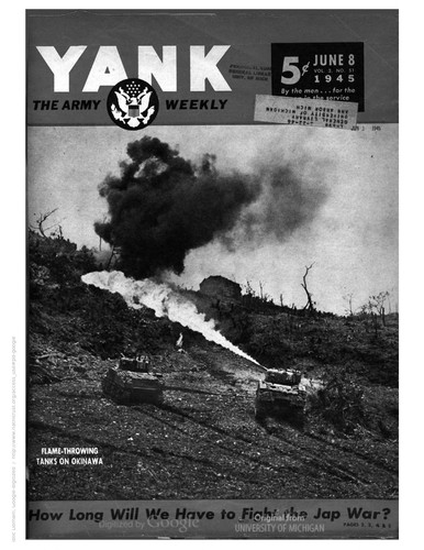 Yank, the Army Weekly by United States. War Department. Special Services Division., United States. War Department., United States. Armed Forces Information and Education Division.