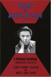 Cover of: Poems of Andre Breton | André Breton