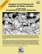 Cover of: Dungeon Crawl Classics #0 | Chris Doyle