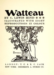 Cover of: Watteau by C. Lewis Hind