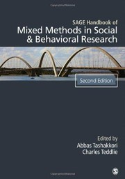 Cover of: Sage handbook of mixed methods in social & behavioral research. - 2. edición | Abbas Tashakkori, Charles Teddlie