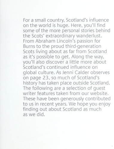 Global friends of Scotland by Ferenc Morton Szasz