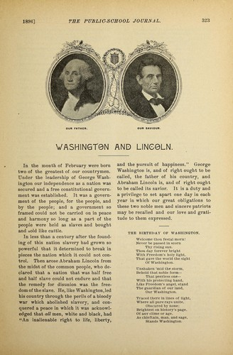 Washington and Lincoln by