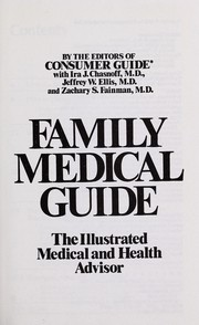 Cover of: Family medical guide | Consumer Guide