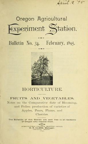 Fruits and vegetables by George Coote