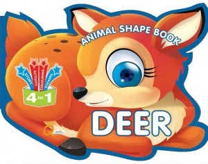 Animal Shape Book - Deer by PTS Edar