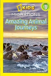 Cover of: Amazing Animal Journeys | Laura F. Marsh