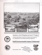 Cover of: Upalco Unit Replacement Project | United States. Department of the Interior