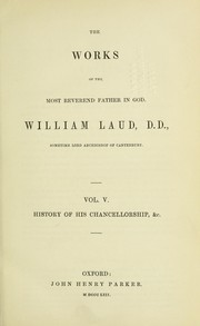 Cover of: The works | William Laud