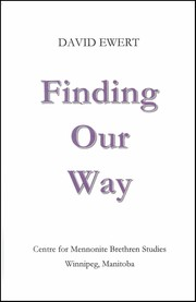 Cover of: Finding Our Way | David Ewert