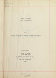 Cover of: A study of errors in grammar in prose composition | Walter G. Drogue