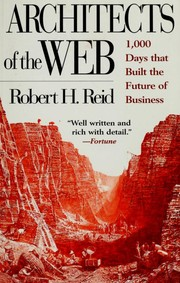 Cover of: Architects of the Web by Reid, Robert