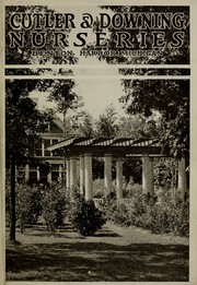 Cover of: Cutler & Downing Nurseries [catalog] | Cutler & Downing Nurseries