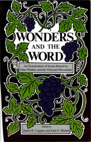 Wonders and the Word