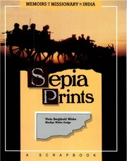 Cover of: Sepia Prints | Viola Bergthold Wiebe and Marilyn Wiebe Dodge