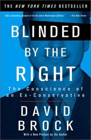 Cover of: Blinded by the Right | David Brock
