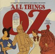 Cover of: All things Oz by L. Frank Baum