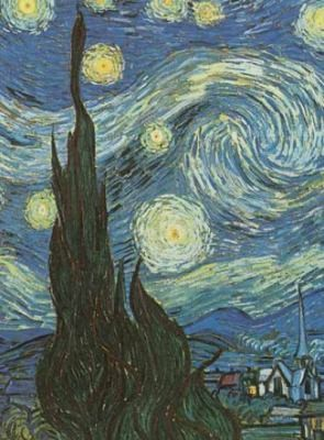 Van Goghs Starry Night Notebook by Vincent van Gogh