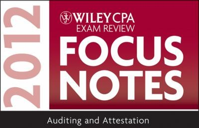 Wiley Cpa Examination Review Focus Notes by Kevin Stevens