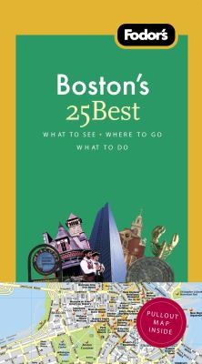 Fodors Bostons 25 Best by Sue Gordon