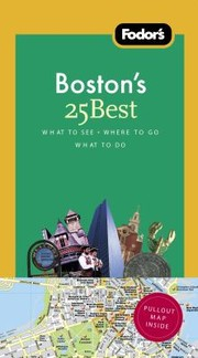 Cover of: Fodors Bostons 25 Best | Sue Gordon