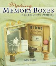 Cover of: Making Memory Boxes by Anna Corba