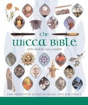 Cover of: The Wicca Bible | Ann-Marie Gallagher