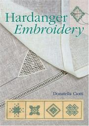 Cover of: Hardanger Embroidery | Donatella Ciotti