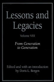 Cover of: From Generation To Generation | Doris L. Bergen