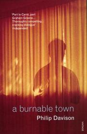 Cover of: A Burnable Town (Harry Fielding Mysteries) | Philip Davison