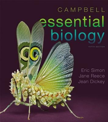 Campbell Essential Biology With Masteringbiology by Jane B. Reece
