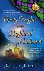 Cover of: Thirty Nights with a Highland Husband (The Daughters of the Glen) | Melissa Mayhue